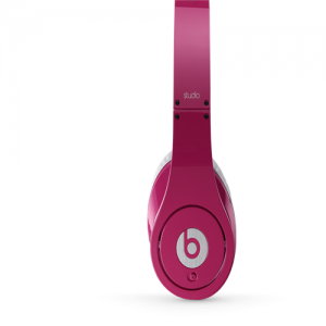 Beats by Dr Dre Studio Over-Ear Pink Headphones
