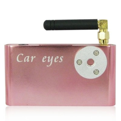 2-in-1 Car Eyes System with Rearview Camera and 2.4G Wireless Transmission