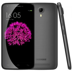 Doogee Valencia2 Y100 Pro Smartphone 5.0'' HD Screen MTK6735 Android 9.1 2G 16GB - Black