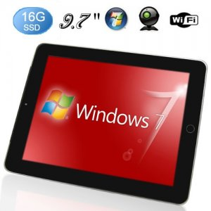 9.7 Inch Capacitive Multi-touch Screen 1GB DDR2 1.66GHz windows 10 Tablet PC