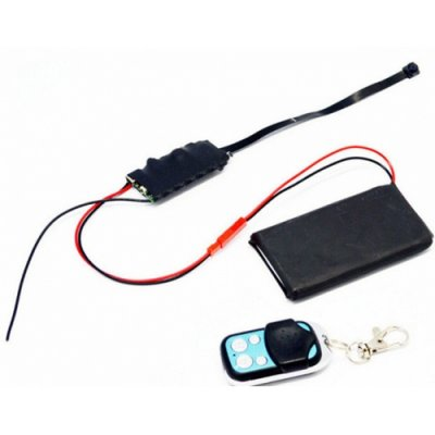 1080P 3800MAh Motion Detection Mini DVR 120 Degree Angel 2.4GHz