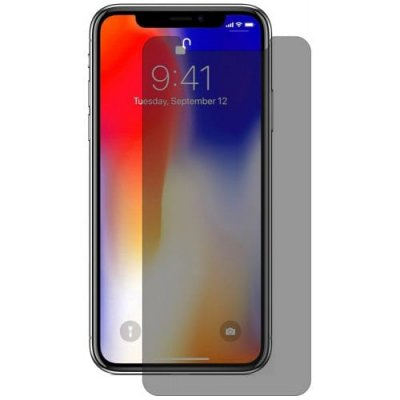 Hat - Prince 0.26mm 9H 2.5D Tempered Glass Screen Protector for iPhone XR - DARK GRAY