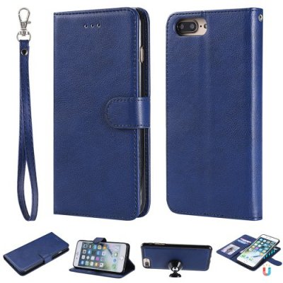 For iPhone 12 Pro Max Case Magnetic 2 in 1 Detachable Folio Cover For iPhone 12 Pro Max - BLUE