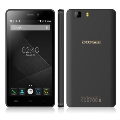 DOOGEE X5 Smartphone 5.0 Inch HD Screen MTK6580 Quad Core Android 9.1 1GB 8GB