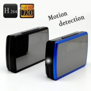 720P HD Multifunctional Alarm Clock & H.264 Motion Detection Hidden DVR