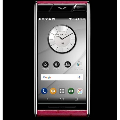 Vertu Aster Raspberry Ostrich Clone Android 11.0 Snapdragon 821 4G LTE luxury Phone