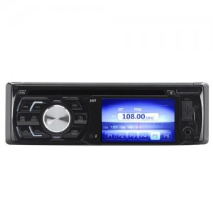 1 DIN 3 Inch TFT LCD Car DVD Player - 180Watt Output, Bluetooth, USB Port, SD Card Slot, Aux In