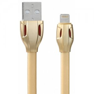 REMAX Portable 1m TPE 8 Pin Data Cable for iPhone - GOLD