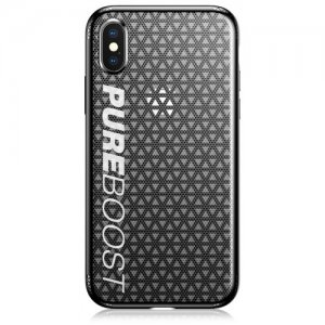 Baseus TPU Dirt-proof Protective Case for iPhone X - BLACK