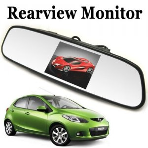 3.5 Inch Color Digital TFT LCD Screen Car Rear View Mirror Monitor