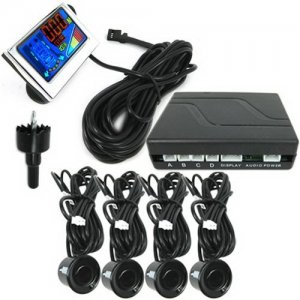 Dual CPU Sytem LCD Parking Sensor with Step-up Alarm - Weatherproof