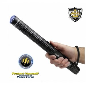 Police Force 10,000,000 Tactical Stun Baton Flashlight