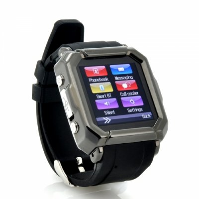 Smart Watch + Watch Phone GSM Quad Band Calls SMS