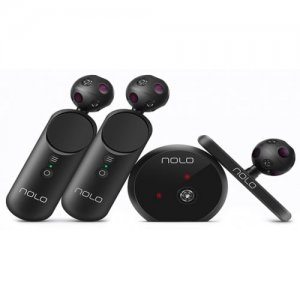 NOLO CV1 VR Console Controllers Motion Tracking Kit for Mobile and PC - BLACK