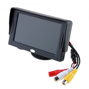 4.3 Sunshade DVR Car Rearview LCD Monitor for Reverse Backup Camera