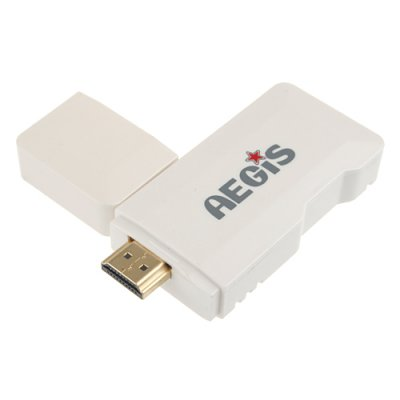 MTB007 Mini Android PC Android TV Box Android 9.1 Tcc8920 HDMI TF 4GB- White