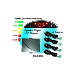 SRD018C4 Speaker Warning LED Display Parking Sensor