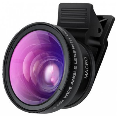 0.45X Macro Lens for Phone - BLACK