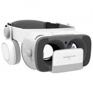xiaozhai VR BOBOVR Z5 3D Glasses Headset with Controller - GREY AND WHITE