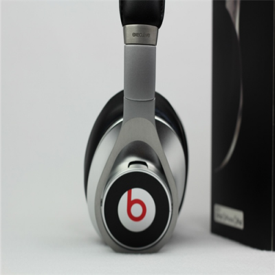 Beats Executive High Quality Over-Ear Headphones With Noise Cancelling Silver Black