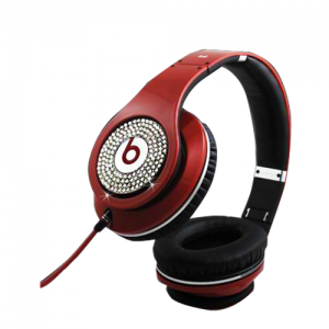 Beats By Dr Dre Studio Over-Ear Red Set Auger Headphones