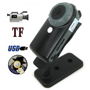 5.0 Mega Pixels High-quality Mini Spy Camera with AV Out Function