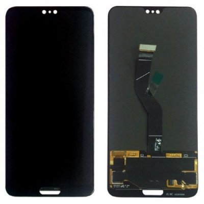 LCD Black Screen Display Digitizer Touch Original Genuine for Huawei P20 Pro - BLACK
