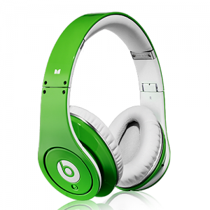 Beats By Dr Dre Studio Over-Ear Green Headphones