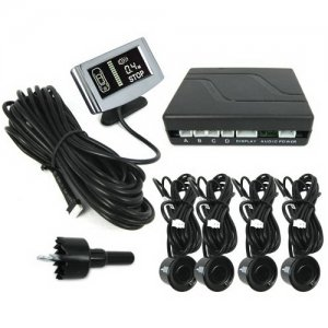 Weatherproof Parking Sensor - Dual CPU System + Step-up Alarm