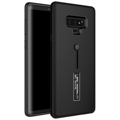 Ultra-thin 2 in 1 TPU + PC Shatter-resistant Phone Case for Samsung Galaxy Note 9 - BLACK