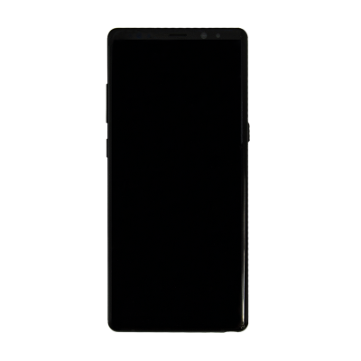 Samsung Galaxy Note 8 Display Assembly with Frame - Midnight Black (Aftermarket)
