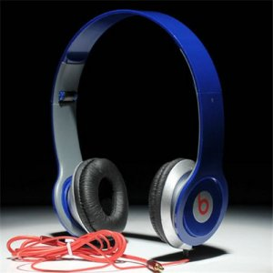 Beats By Dr Dre Solo On-Ear Mini Headphones Blue