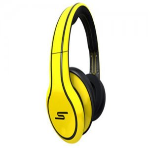 SMS Audio STREET by 50 Cent Limited Edition Over-Ear Wired Headphone - Yellow