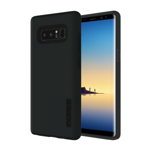Incipio DualPro Samsung Galaxy Note 8 Protective Hard Shell Case - Black