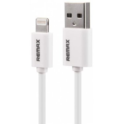 REMAX Speed 8Pin Fast Charging Cable 1m for iPhone 12 Pro - XS - XR - XS MAX - WHITE