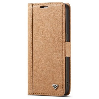 WHATIF for Samsung Galaxy S7 Detachable Wallet DIY Phone Case with Card Slots - BROWN