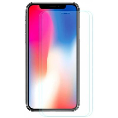 Hat - Prince 0.26mm 9H 2.5D Arc Tempered Glass Screen Protector for 5.8 inch iPhone XS - iPhone X 2pcs - TRANSPARENT