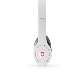 Beats By Dr Dre Solo High Performance On-Ear Headphones-White