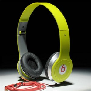 Beats By Dr Dre Solo On-Ear Mini Headphones Green