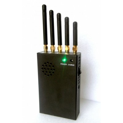 3W Handheld Powerful 3G Mobile Phone WiFi UHF Signal Jammer