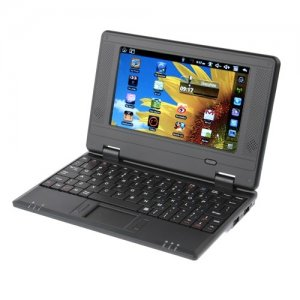 "EPC Mini Notebook 7"" 256MB RAM 512MB ROM Android 9.1 Laptop PC Plastic Shell"