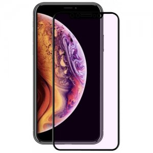 Hat - Prince 3D 0.2mm 9H Carbon Fiber Tempered Glass Full Screen Protector Film for iPhone XS - iPhone X - BLACK