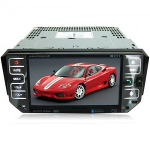 5 Inch TFT Touch Screen Car DVD Player - TV - FM Function