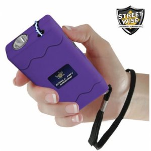 Small Fry 8.8 Million Volt Purple Stun Gun + Flashlight