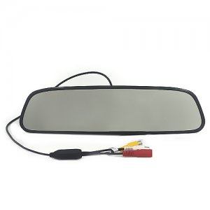 "RD738S Rearview Mirror with 3.5"" TFT and Camera Display Parking Sensor System"