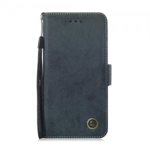 Black Leather Case for iPhone 5-5 S-SE - MULTI