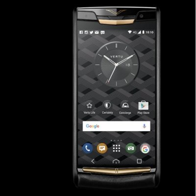 Vertu Signature Touch Pure Jet Red Gold Clone Android 11.0 Snapdragon 821 4G LTE luxury Phone