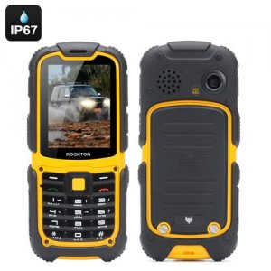 MFox J1 Rugged Phone - IP67, Altimeter, Barometer, Compass, Pedometer, SOS, GSM, 3G, Bluetooth