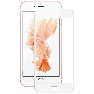 Hat - Prince 6D 0.26mm 9H Tempered Glass Full Screen Protector for iPhone 12 - 6S - WHITE