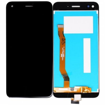 Mini Simple Digitizer Full Assembly LCD Screen for HUAWEI P9 Lite - BLACK